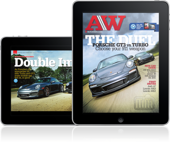 AW Magazine em iPads