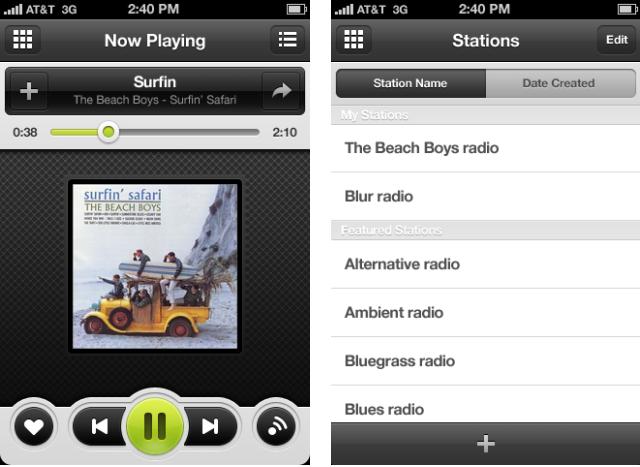 Grooveshark para iPhone na Cydia