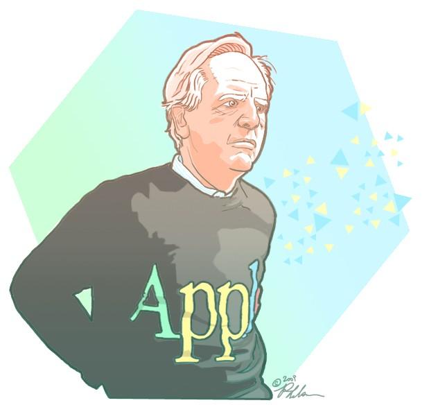 Desenho de John Sculley