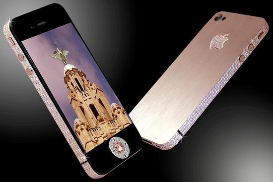 iPhone 4 Diamond Rose - Stuart Hughes
