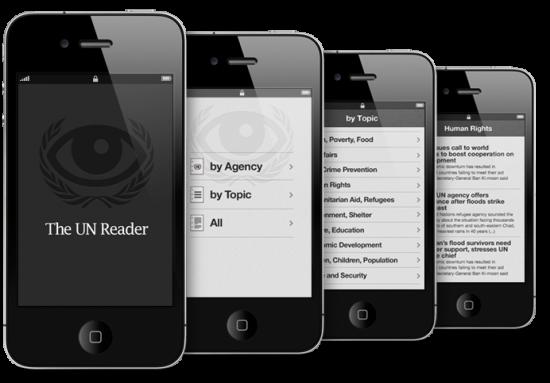 UN Reader em iPhones