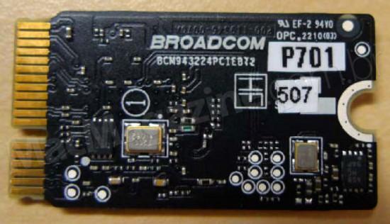 Anatel - PCI da Broadcom