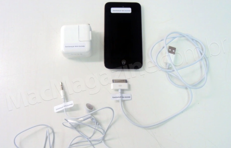 Homologação do iPod touch 4G