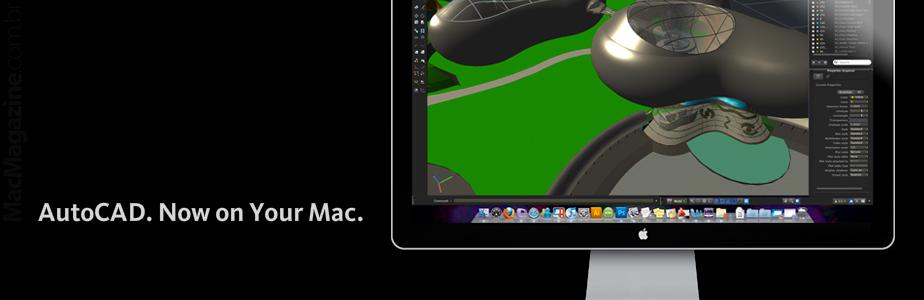 AutoCAD para Mac disponível