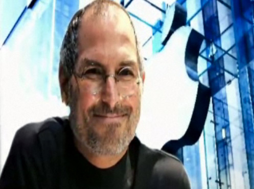 Steve Jobs no Game Changers da Bloomberg