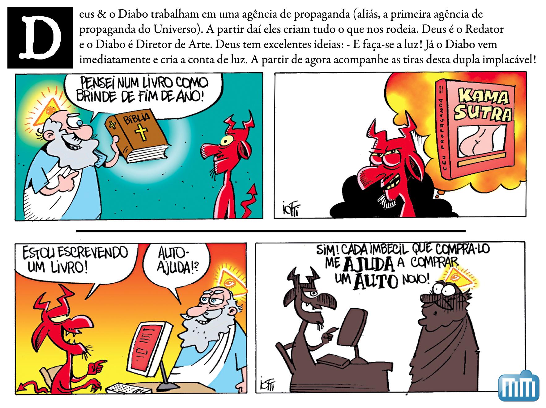 Iotti - Livros preferidos do Deus e do Diabo
