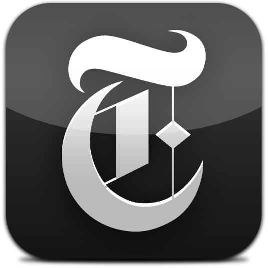 Ícone do New York Times for iPad