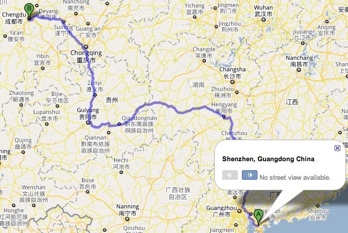 Foxconn indo de Shenzhen para Chengdu