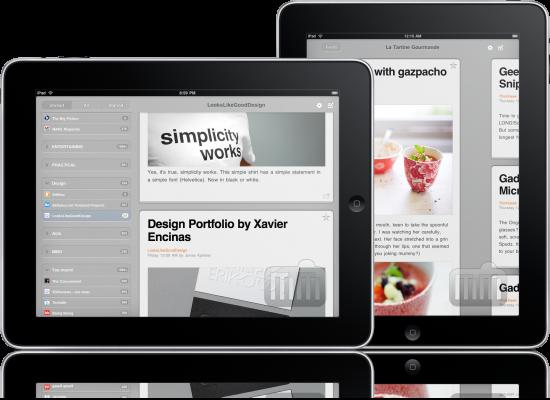 River of News em iPads
