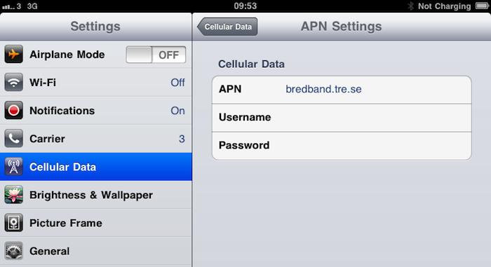 iOS 4.2 beta 3 sem tethering no iPad Wi-Fi+3G