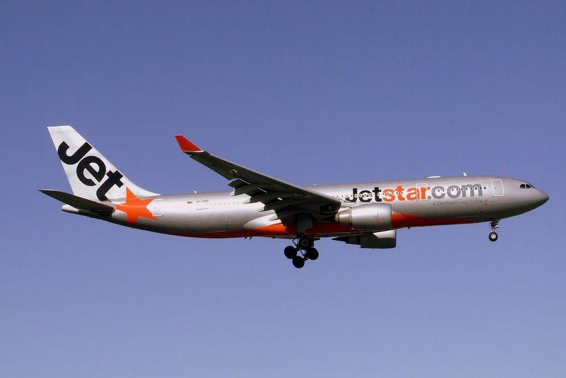 Avião da Jetstar Airways