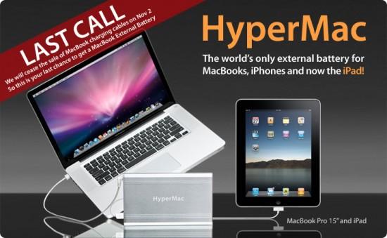 Bateria HyperMac, da Sanho, saindo do mercado