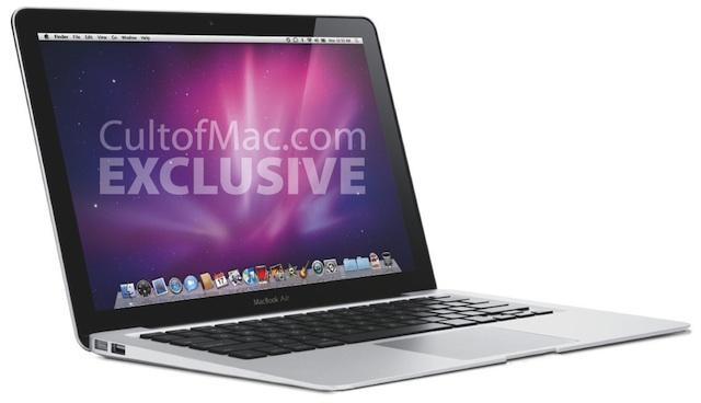 Mockup do novo MacBook Air