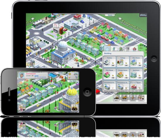 We City no iPhone e no iPad