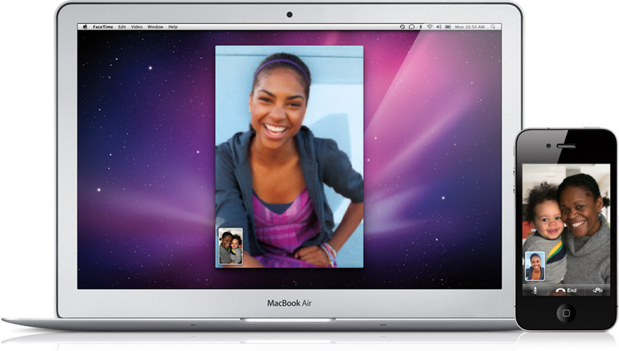 FaceTime no Mac