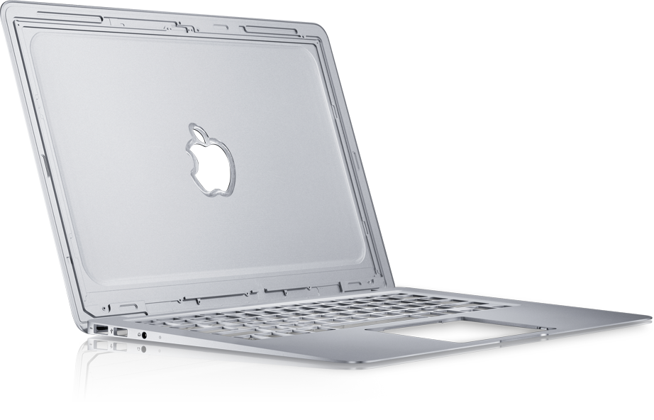 Corpo unibody do MacBook Air
