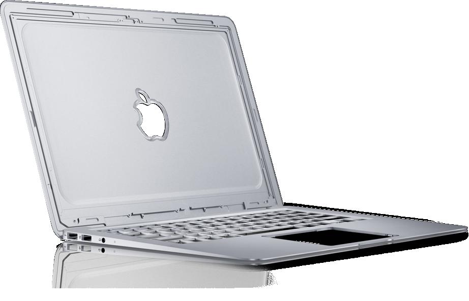 Corpo unibody do MacBook Air