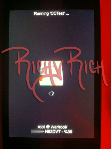 Protótipo de iPhone N92DVT - Richy Rich