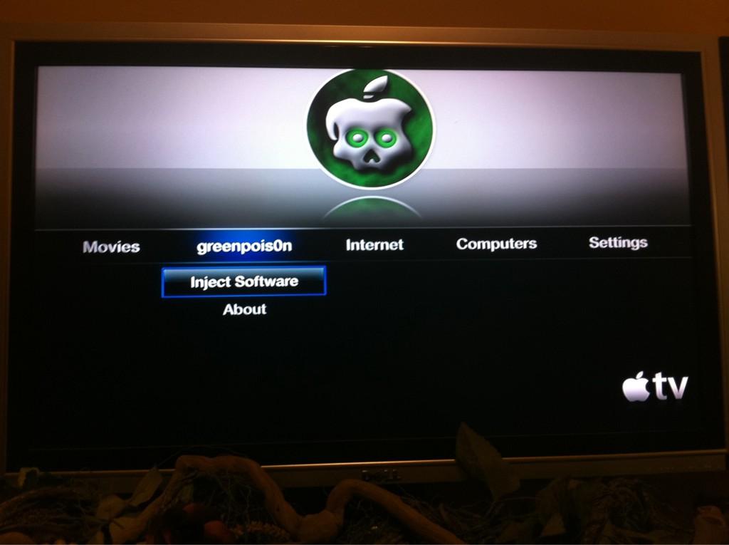 Apple TV jailbroken