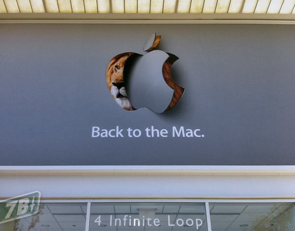 "Banner do evento ""Back to the Mac"""