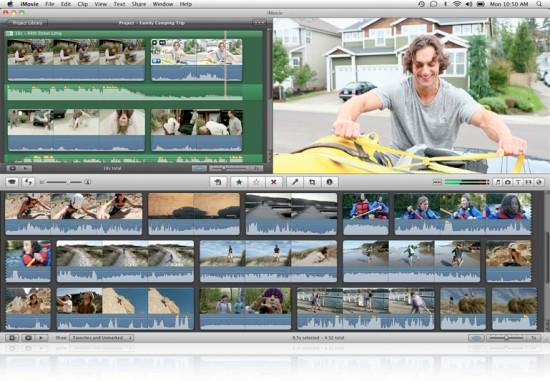 Edição de áudio no iMovie '11