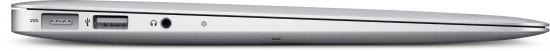 MacBook Air de 13,3 polegadas de lado
