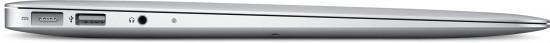 MacBook Air de 11,6 polegadas de lado