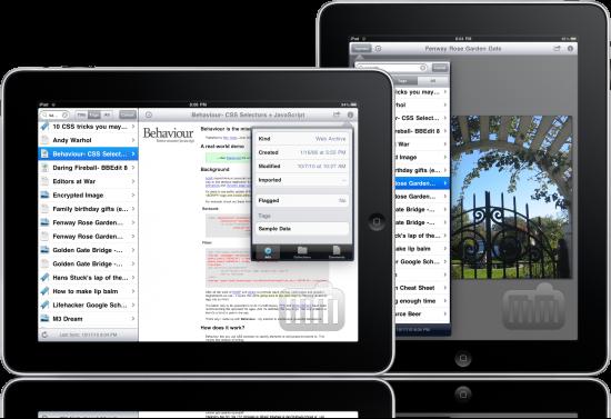 Yojimbo para iPad