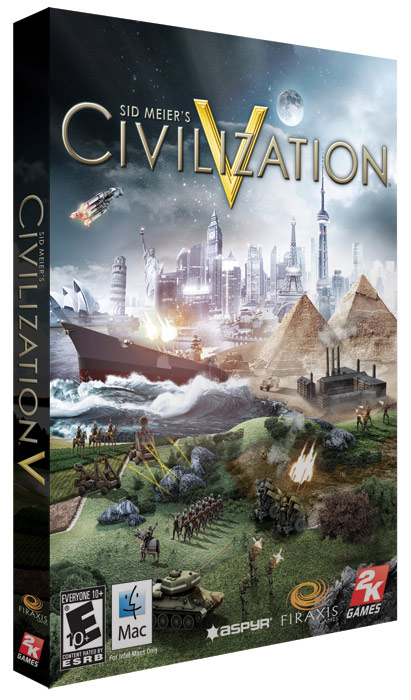 Caixa do Civilization V para Mac