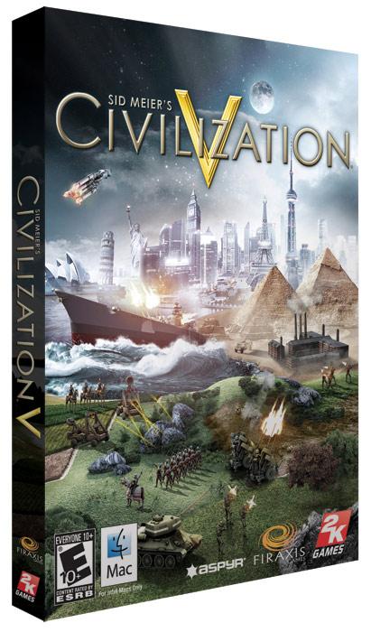 Caixa do Civilization V para Mac