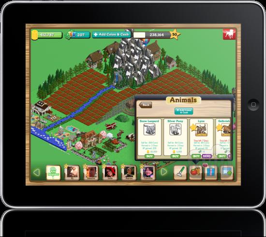 FarmVille para iPad