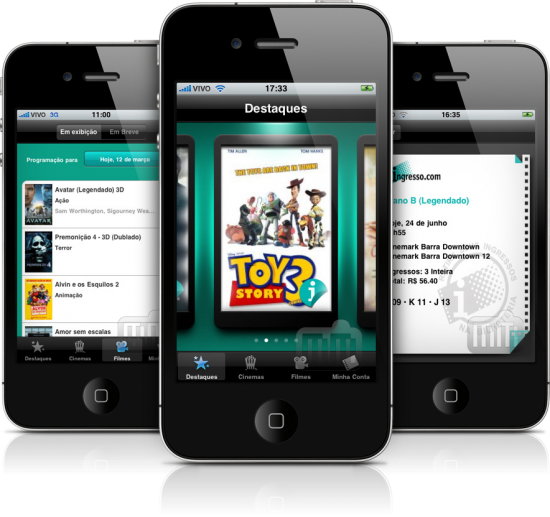 Ingresso.com em iPhones