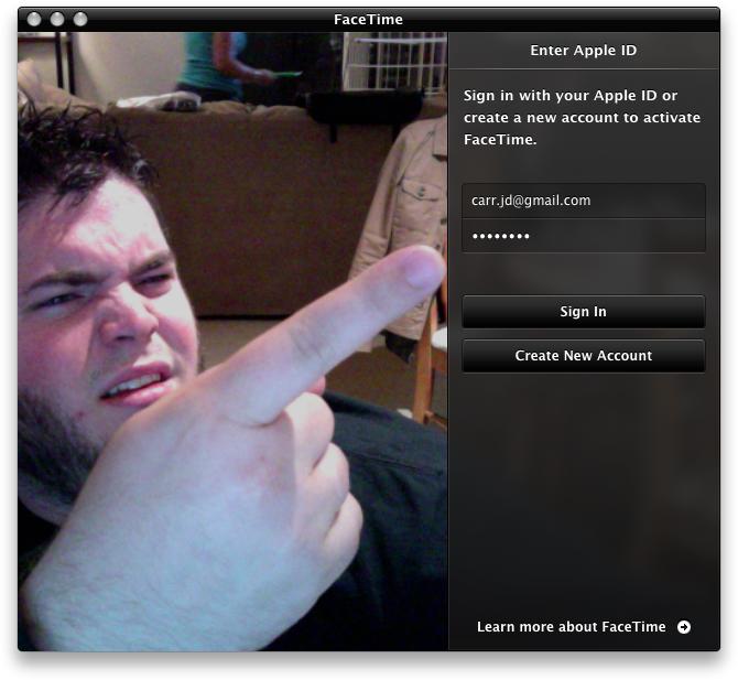 Brecha de segurança no FaceTime para Mac