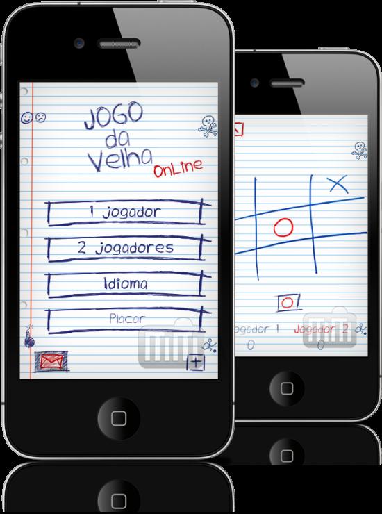 Jogo da Velha Online em iPhones
