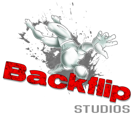 Logo da Backflip Studios
