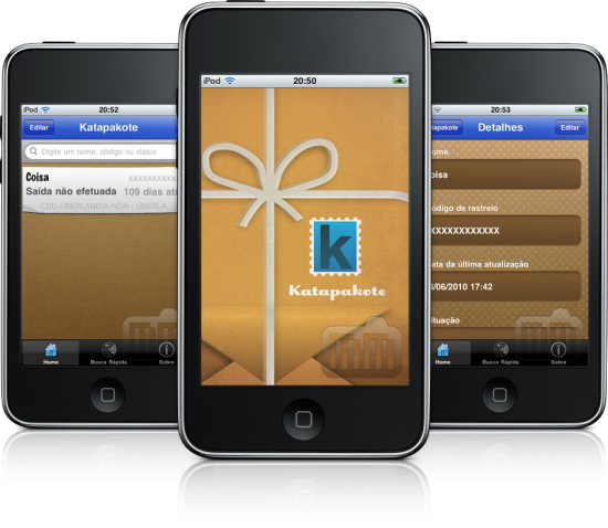 Katapakote em iPods touch