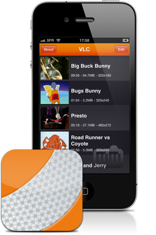 VLC no iPhone
