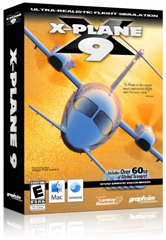 Caixa do X-Plane 9 para Mac