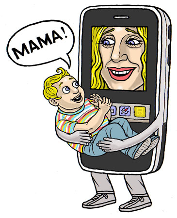 iPhone mama