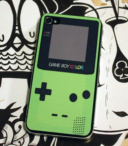 iPhone 4 como Game Boy Color