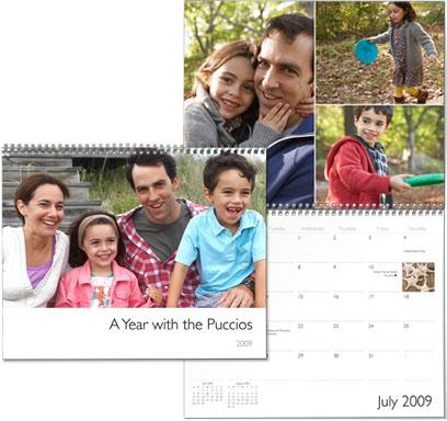 Calendários do iPhoto