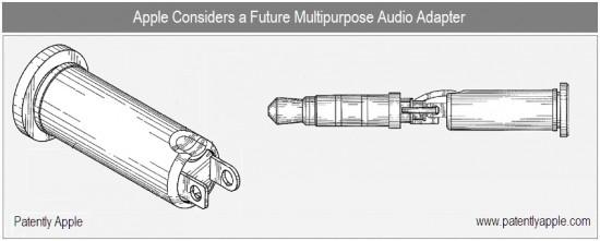 Patente de adaptador para plugue de fones de ouvido
