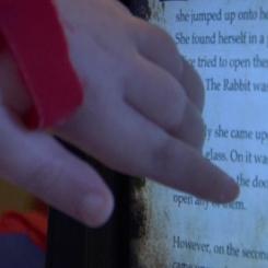 Owen Cain e seu iPad