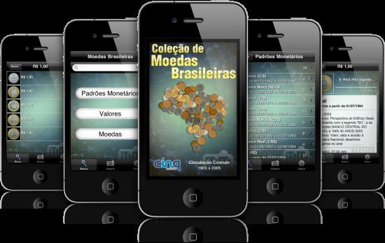 Brazilian Coins em iPhones