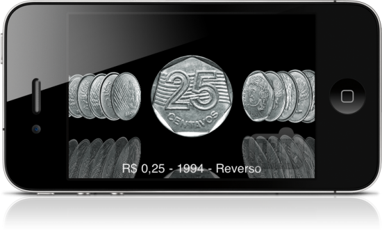 Brazilian Coins no iPhone