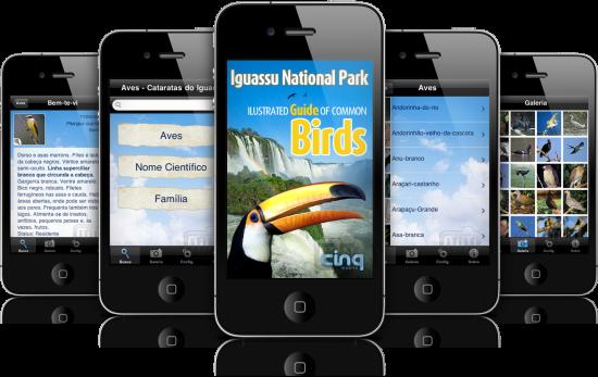 Iguassu Birds em iPhones