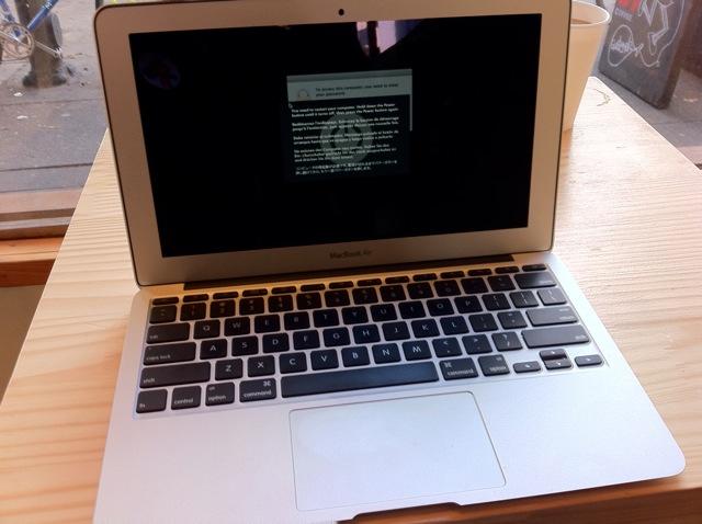 Kernel panic no MacBook Air