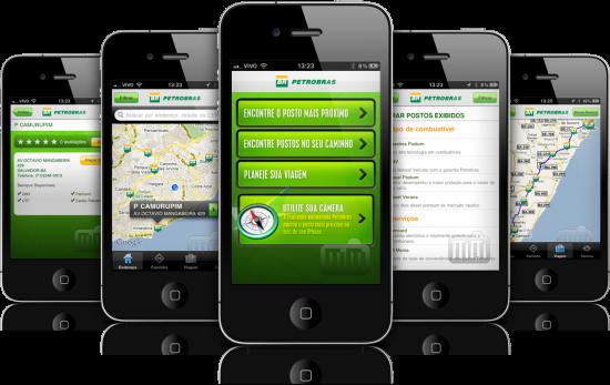 Localizador de Postos Petrobras em iPhones