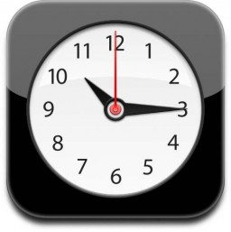 Ícone do Relógio (Clock) do iOS