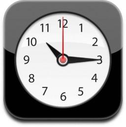 Ícone do Relógio (Clock) do iOS